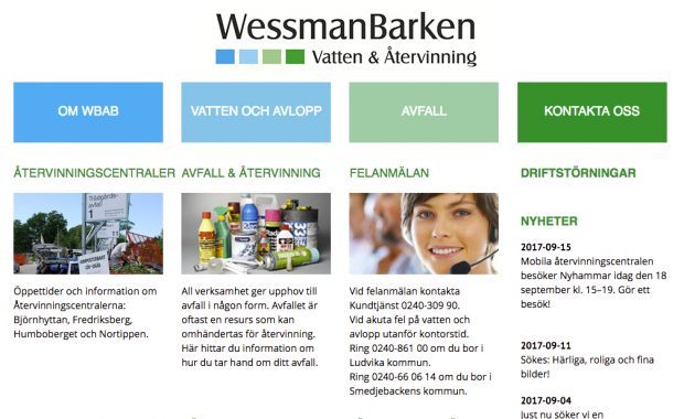 Wessman Barken: Enda systemet som uppfyllde alla våra krav